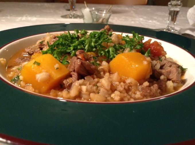 Libyan Lamb Soup