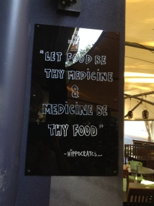 Old food wisdom