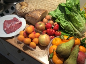 My shopping from the market